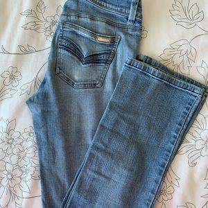 White House black market boot cut jeans